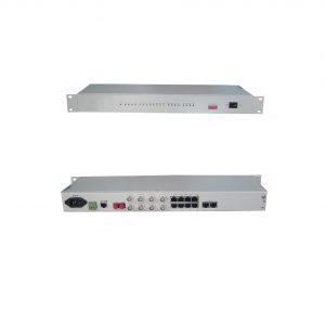 4 बंदरगाहों FXO / FXS फाइबर PCM उपकरण भन्दा