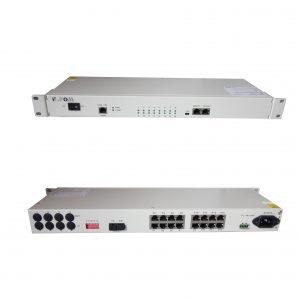 FXO FXS PCM multiplexer