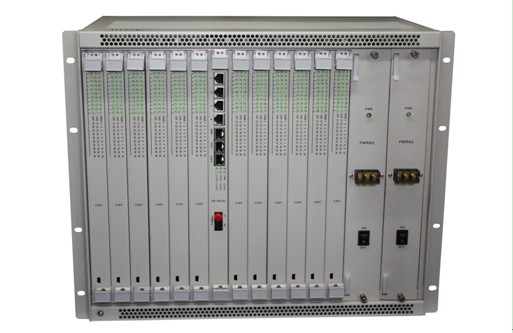 30 ports FXO FXS over fiber PCM multiplexer