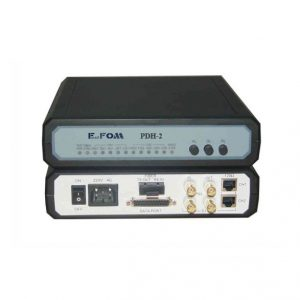 2 port E1 V.35 fiber optik modem