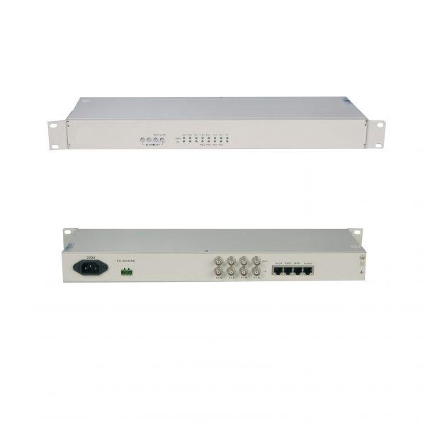 8E1 TDM over IP converter:TOIP-8E1